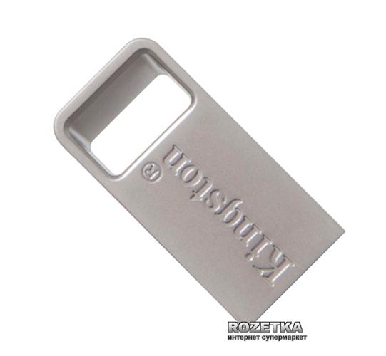 Kingston DT Micro 3.1 64GB Metal Silver USB 3.1 (DTMC3/64GB) - изображение 1
