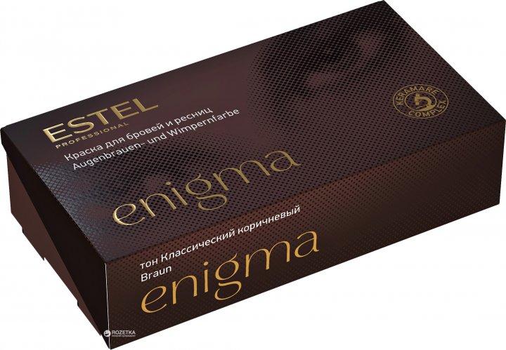 Краска для бровей и ресниц Estel Professional Enigma тон Классический коричневый EN/4 20 мл (4606453015286) - изображение 1