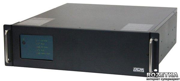 Джерело безперебійного живлення Powercom KIN-2200AP-RM (3U) - зображення 1