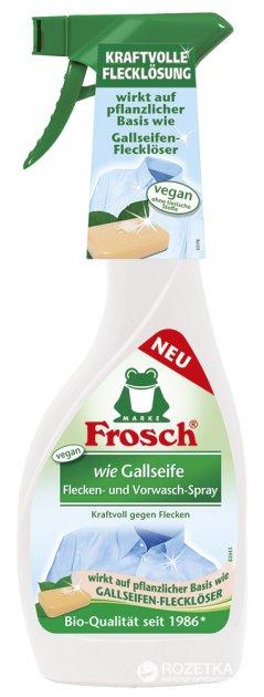 Спрей-пятновыводитель Frosch Желчное мыло 500 мл (4001499923760) - изображение 1