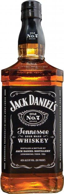 Теннесси Виски Jack Daniel's Old No.7 0.7 л 40% (5099873089798) - изображение 1