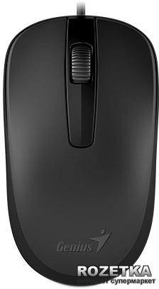Мышь Genius DX-120 USB Black (31010105100) - изображение 1
