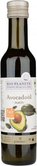 Масло авокадо Bio Planete неочищенное органическое 250 мл (3445020208901) - изображение 1