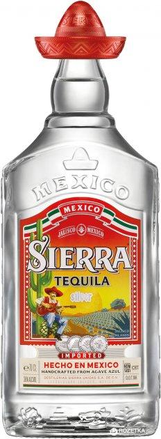 Текила Sierra Silver 0.7 л 38% (4062400115483) - изображение 1