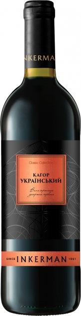 Вино Inkerman Кагор Український червоне десертне 0.75 л 16% (4820003750353) - зображення 1