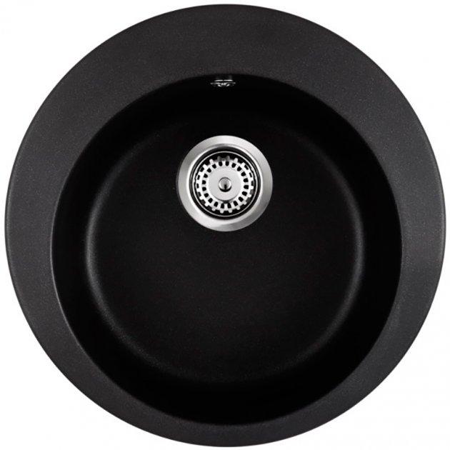 Кухонна мийка INTERLINE RONDO black - зображення 1