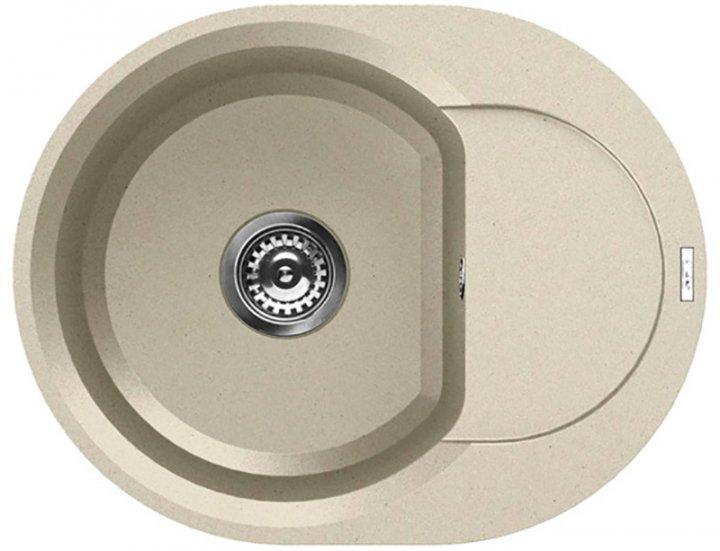Кухонная мойка ELLECI EASY Round bianco antico 62 - изображение 1