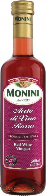 Уксус Monini винный красный 7.1% 500 мл (80054634) - изображение 1
