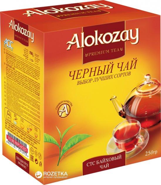 Чай чорний гранульований Alokozay СТС 250 г (6291101130176) - зображення 1
