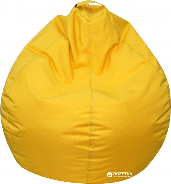 Крісло-Груша Примтекс Плюс Tomber OX-111 M Yellow - зображення 1