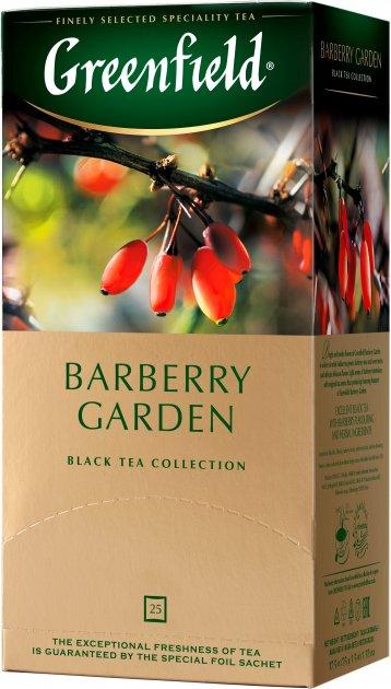 Чай пакетированный Greenfield Barberry Garden 25 x 1.5 г (4823096804866) - изображение 1