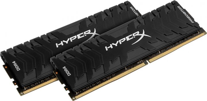 Оперативная память HyperX DDR4-3000 32768MB PC4-24000 (Kit of 2x16384) Predator Black (HX430C15PB3K2/32) - изображение 1