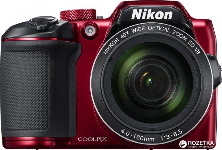 Фотоаппарат Nikon Coolpix B500 Red (VNA953E1) Официальная гарантия! - изображение 1