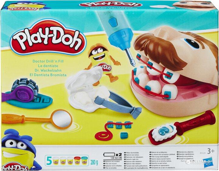 Ігровий набір Hasbro Play-Doh Містер Зубастик (B5520) - зображення 1