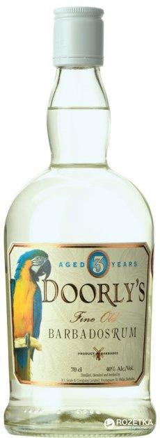 Ром Doorly's 3 года выдержки White 0.7 л 40% (724803005115) - изображение 1
