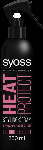 Термозахисний спрей для укладання SYOSS Heat Protect (фіксація 2) 250 мл (4015000541947) - зображення 1