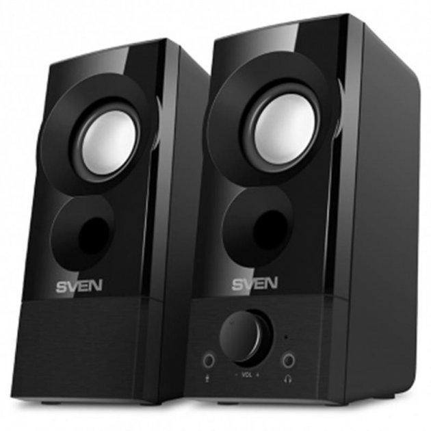 Акустическая система Sven 357 Black - изображение 1