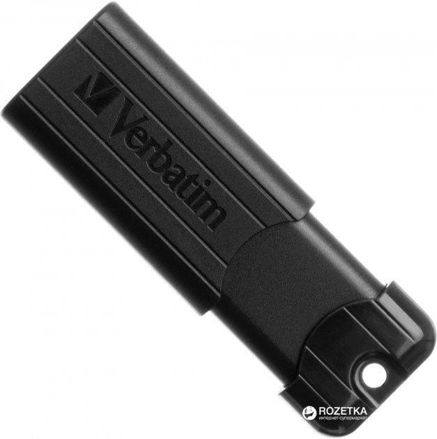 Verbatim PinStripe USB 3.0 32GB Black (49317) - изображение 1