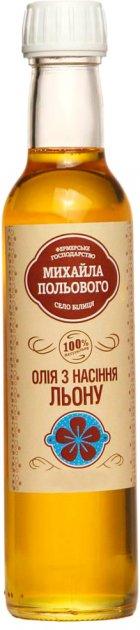 Масло ФХ Михаила Полевого льняное 250 мл (4820199540028) - изображение 1