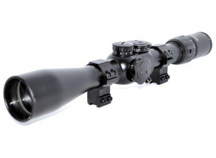 Оптичний приціл Vogler 3-9x40EG з підсвічуванням прицільної марки і кріпленням - зображення 1
