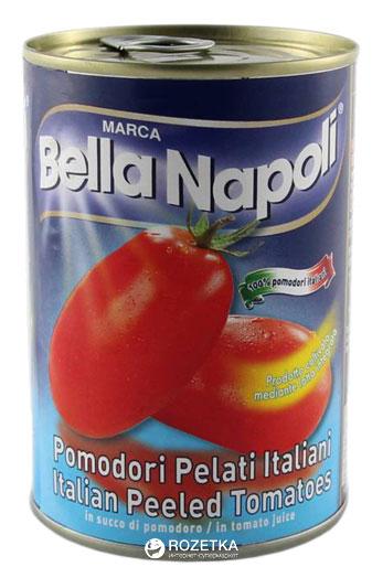 Помидоры Bella Napoli очищенные 400 г (8005700160001) - изображение 1