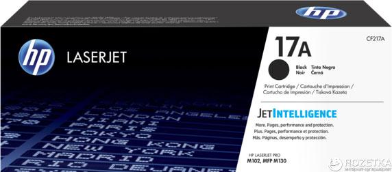 Тонер картридж HP 17A LJ Pro M102/ M130 Black (CF217A) - изображение 1