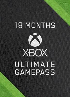Подписка цифровой код Xbox Game Pass Ultimate на 18 месяцев   Все Страны - изображение 1