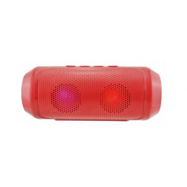 Портативная Bluetooth колонка SPS Q610 с подсветкой красный - изображение 1