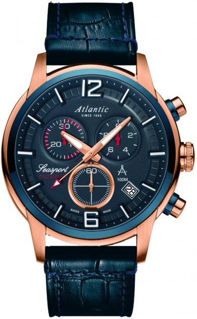 Мужские часы Atlantic 87461.44.55 - изображение 1