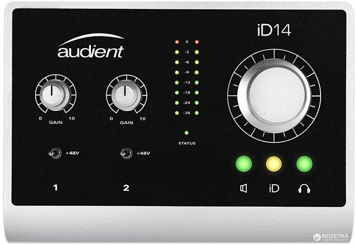 Аудіоінтерфейс Audient iD14 (222814) - зображення 1