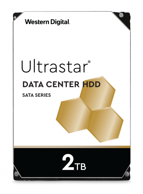 "Жорсткий диск Western Digital Ultrastar DC HA210 2TB 7200rpm 128MB HUS722T2TALA604_1W10002 3.5"" SATA III - зображення 1"