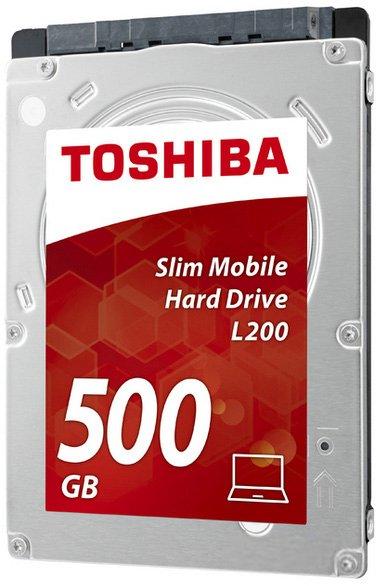 "Жесткий диск Toshiba Mobile L200 500GB 5400rpm 8MB HDWK105UZSVA 2.5"" SATAII - изображение 1"