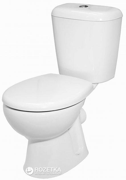 Унитаз-компакт КЕРАМИН Гранд ЖС 70601693 Алкапласт белый - изображение 1