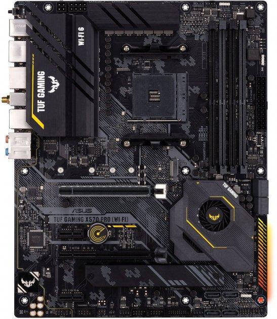 Материнская плата Asus TUF Gaming X570-PRO (WI-FI) (sAM4, AMD X570, PCI-Ex16) - изображение 1