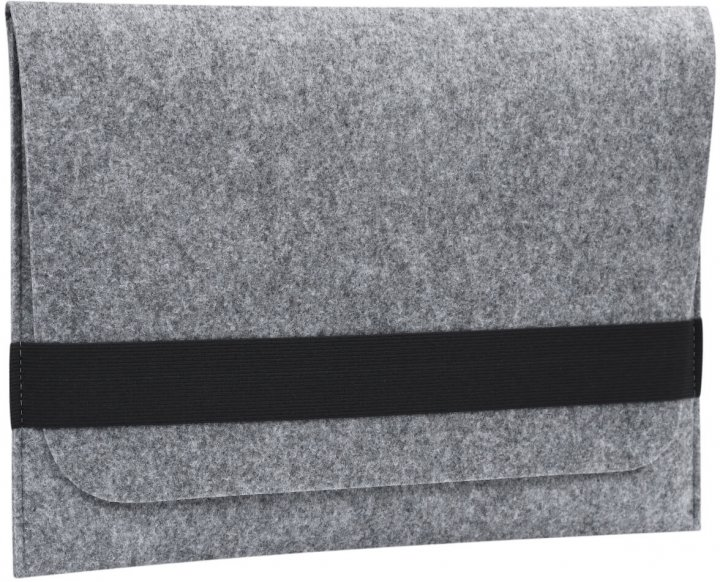 """Чохол для ноутбука Gmakin для MacBook Pro 13"""" Black/Grey (GM15-13New) - зображення 1"""