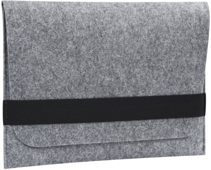 "Чохол для ноутбука Gmakin для MacBook Air/Pro 13.3"" Black/Grey (GM15) - зображення 1"
