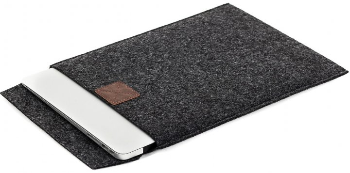 """Чохол для ноутбука Gmakin для MacBook Pro 13"""" Grey/Brown (GM17-13New) - зображення 1"""