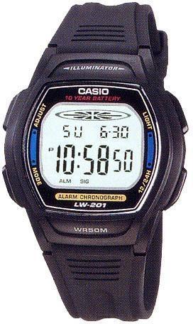 Чоловічі годинники Casio LW-201-2AVDF - зображення 1