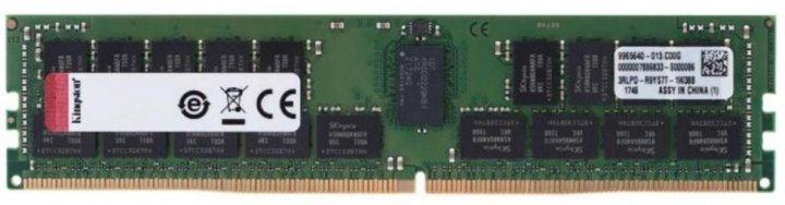 Оперативна пам'ять Kingston DDR4-2933 32768MB PC4-23500 ECC Registered (KSM29RD4/32MEI) - зображення 1