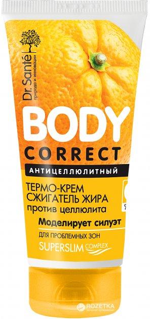 Термо-крем Dr.Sante Body Correct Антицеллюлитный сжигатель жира 150 мл (4823015935190) - изображение 1
