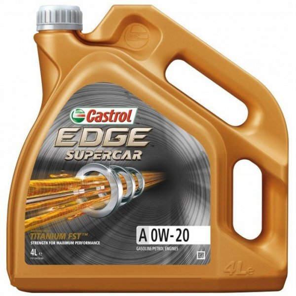 Моторна олива Castrol EDGE Supercar A 0W-20 4 л - изображение 1