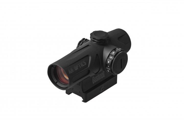 Прицел коллиматорный Bushnell AR Optics 1x Enrage 2 Moa Red Dot Bushnell Outdoor Products Черный - зображення 1