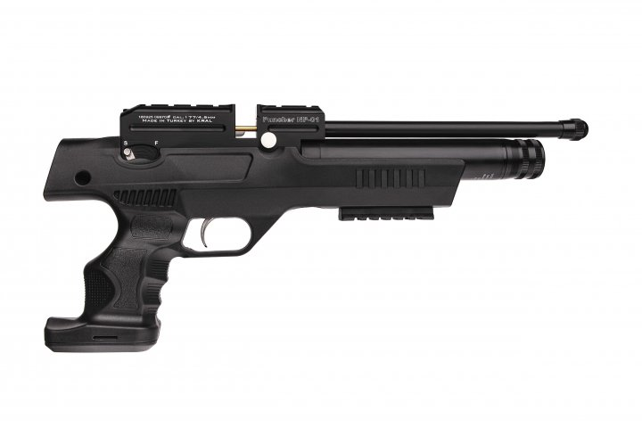 Пистолет пневматический Kral NP-01 PCP кал.4,5 мм Kral Arms Черный - зображення 1