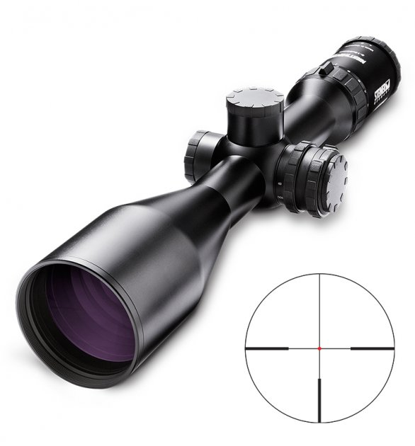 Прицел оптический Steiner Nighthunter Xtreme 3-15x56 4A-I Steiner-Optik Gmbh Черный - зображення 1