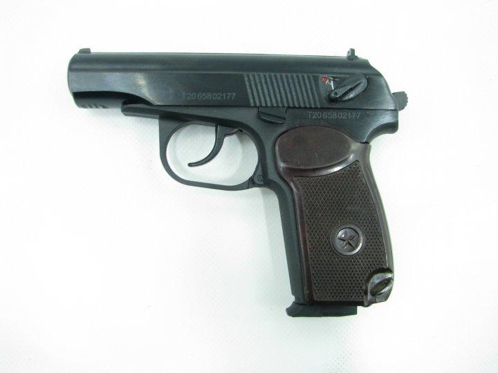 Пневматичний пістолет байкал мр658к(мр654к) бак. рук. blowback - изображение 1