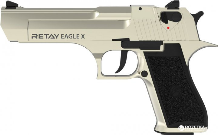 Стартовый пистолет Retay Arms Eagle 9 мм Satin (11950380) - изображение 1