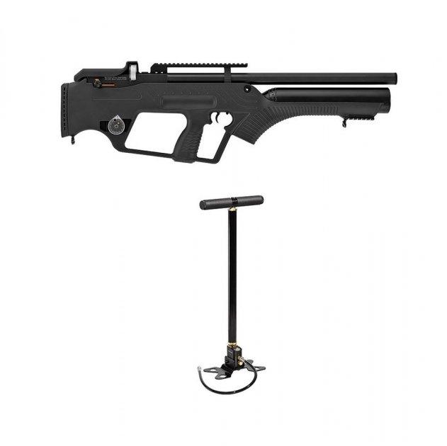 Пневматична гвинтівка Hatsan Bullmaster з насосом попередня накачування напівавтоматичний вогонь 320 м/с - зображення 1