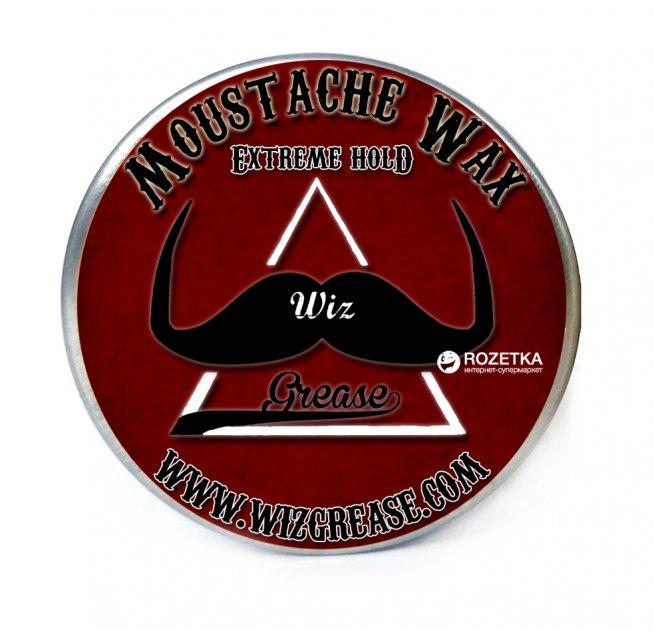 Віск для вусів WizGrease Extreme Hold з ароматом розмарину 13 мл (13192) - зображення 1