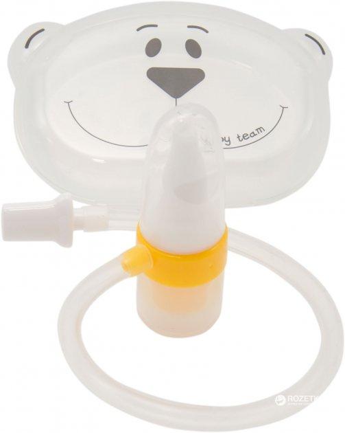 Аспиратор назальный Baby Team с трубочкой (7003)