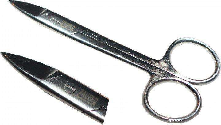 Ножницы маникюрные для ногтей усиленные Zauber-manicure 01-186 (4004904001862) - изображение 1